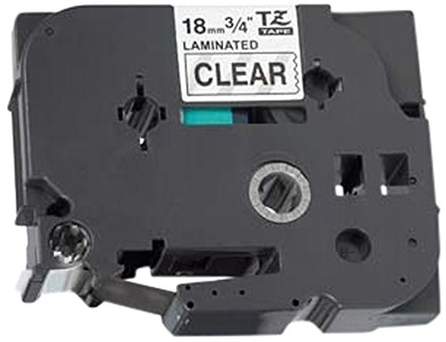 Compatible TZ-141/TZe-141 Black on Clear Label Tape (18mm x 8m) for Brother P-Touch Label Printing Machines