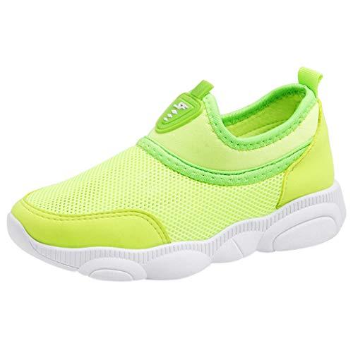 SOMESUN Bambini Bambino Ragazzi Ragazze Maglia Scarpe da Ginnastica Candy Color Sport Correre Casuale Sneaker Sportivo Traspirante Scarpe da Corsa