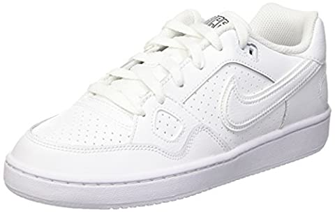 Nike Son of Force, Jungen Sneakers, Weiß (White/White-White), 38 EU (5 Kinder UK)
