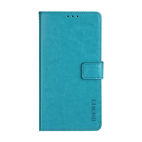 Manyip Leagoo T5c Hülle,Handyhülle Leagoo T5c,TPU-Schutzhülle mit [Aufstellfunktion] [Kartenfächern] [Magnetverschluss] Brieftasche Ledertasche für Leagoo T5c
