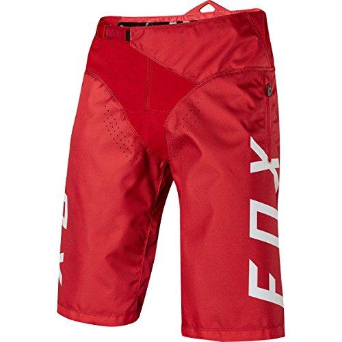 Fox Demo Short, Rot, Größe 32 (Gefärbt Fox)