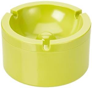 Rosti Mepal Cendrier avec couvercle anti-odeur 100% mélamine Vert Lime