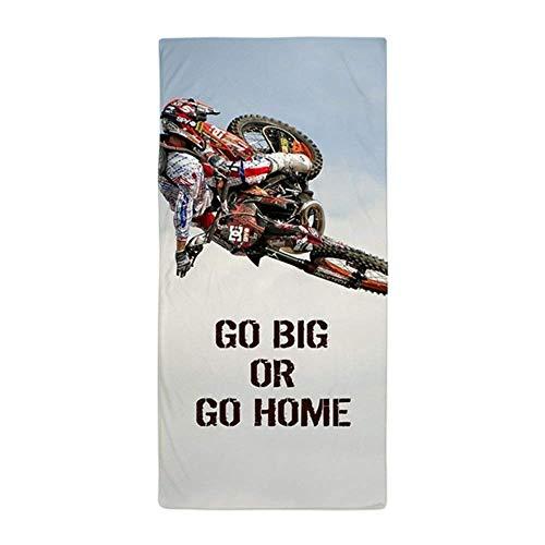 """No Soy Como Tu Strandtücher Handtücher Motocross RiderLarge Beach Towel, Soft 31""""x51"""" Towel with Unique Design"""