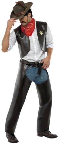 Village Kostüm Cowboy People - Generique - Cowboy-Kostüm der Village People für Herren
