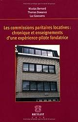 Les commisions paritaires locatives : chronique et enseignements d'une expérience-pilote fondatrice