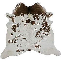 Alfombra Piel de Vaca Natural | Medidas: 190 x 180 cms 2.92 m² | Alfombra Salón | Alfombra Decoracion | Alfombra Dormitorio