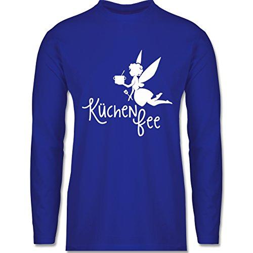 Küche - Küchen Fee - Longsleeve / langärmeliges T-Shirt für Herren Royalblau