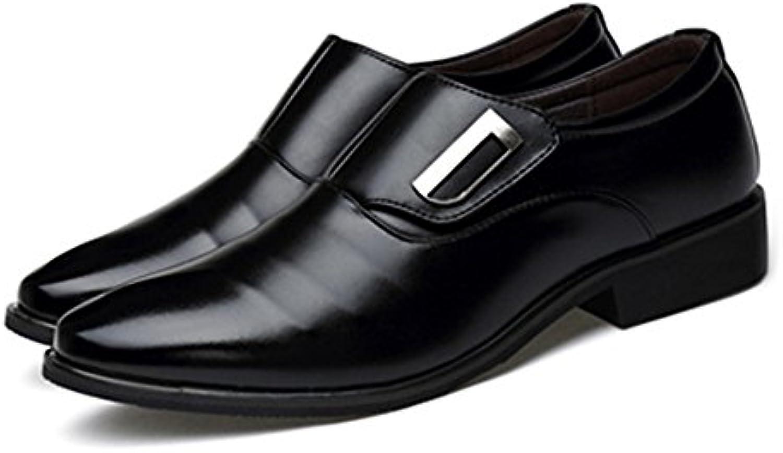 Jiuyue-scarpe, Jiuyue-scarpe, Jiuyue-scarpe, 2018 Scarpe da lavoro da uomo Smooth PU Leather Slip-on traspirante Low Top Oxfords Scarpe Uomo... | Buona qualità  082fe8