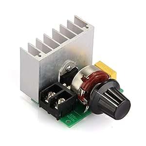 Scr regolatore di voltaggio tensione 4000w alta potenza for Stabilizzatore di tensione 220v 3kw prezzi