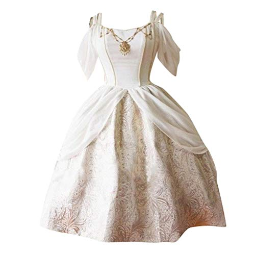Kindergarten Den Dame Alte Für Kostüm - Solike Damen Viktorianisches Rokoko-Kleid, Mittelalter Kleid Lolita Gothic Kleider Kostüm Prinzessin Halloween Weihnachten Party Cosplay Dress