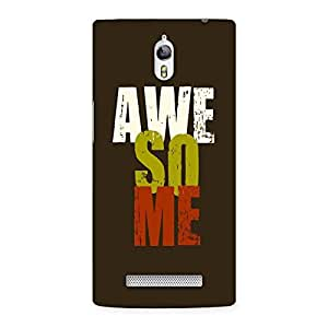 Awesome Me is Aweomse Back Case Cover for Oppo Find 7
