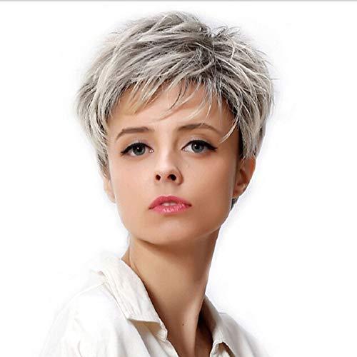 ade Haar Perücke Gradient Frisur Natürlich Hitzebeständige Cosplay Halloween Weihnachts Haarverlängerungen Styling ()