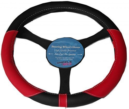 fiat-500-punto-uno-leather-look-steering-wheel-glove-cover-red-ka1325
