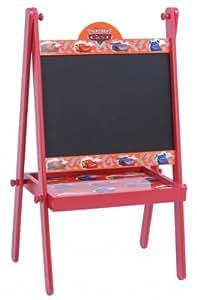 DISNEY Tableau noir pour enfants CARS - Bois - tableau pour dessins - meuble pour enfants