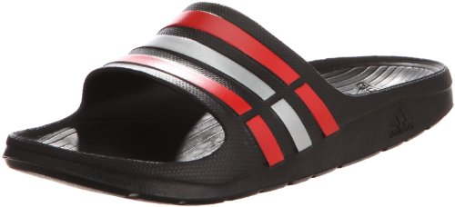 24342b46c Adidas g46455 Men S Duramo Slide Black And Grey Flip Flops And House  Slippers 8 Uk- Price in India