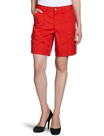 Eddie Bauer Damen Short, 21207820, Gr. 34 (4), Rot (Rot)