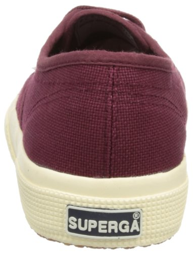 Superga 2750 Cotu Classic, Sneakers Unisex - Adulto Rosso (Dark Bordeaux)