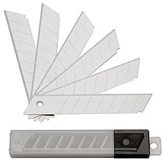 SBS Abbrechklingen | 100 Stück | 18 mm | für Cuttermesser Teppichmesser Cutter Klingen Ersatzklingen Menge wählbar