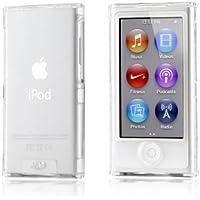 Carcasa (delantera y trasera) transparente cristalizada para iPod nano 7 + 1 film nano 7