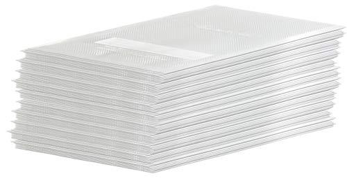 Rosenstein & Söhne Sous-Vide-Beutel: 100 Profi-Folienbeutel für Balken-Vakuumierer, 15 x 20 cm (Vakuumierbeutel)