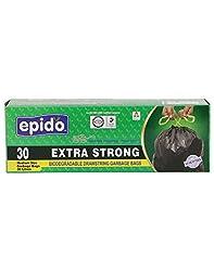 Epido Blue 30 Ltrs Biodegradable Garbage Bags - 30 Pcs