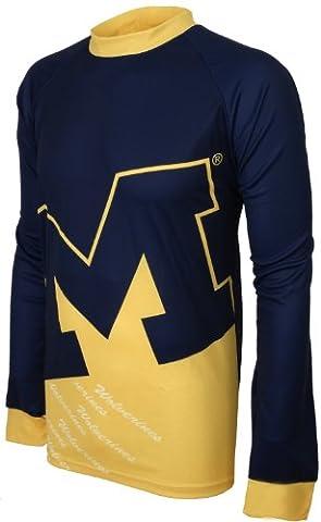 NCAA Michigan Wolverines Mountain Bike Jersey, Herren, Michigan Wolverines