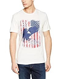 TOM TAILOR Herren T-Shirt Photoprint Tee