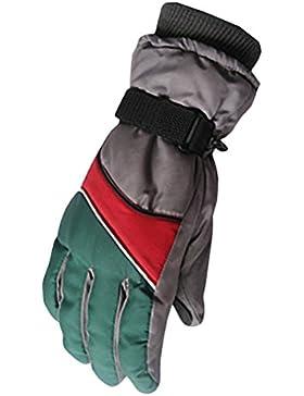 Zhhlaixing Free Size Winter Mens Windproof Warm Gloves Outdoor Waterproof Sports Gloves