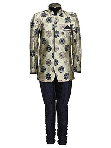 AJ Dezines Kids Indo Western Sherwani Suit for Boys