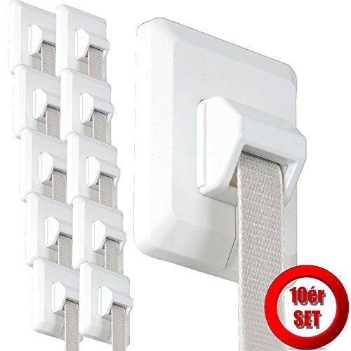 Preisvergleich Produktbild 10x DIHA ESM Rolladengurt Reparaturset Umlenkrolle Rolladen & Rolladengurt Abdeckung ohne Gurtausbau