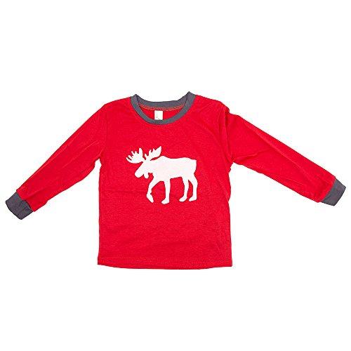 SPECOOL Weihnachten Familie Pyjamas Set - Deer Gedruckt Nachtwäsche Nachtwäsche Homewear für Kinder Mama Dad