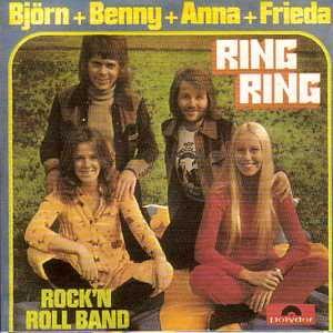 Ring Ring - Rock n roll band 2-Track CARD SLEEVE CDSINGLE