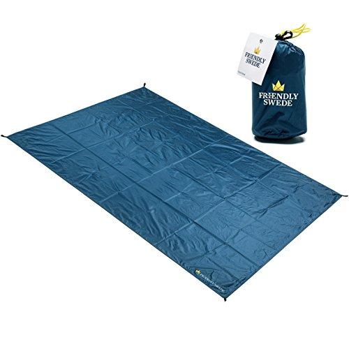 the-friendly-swede-coperta-tascabile-multiuso-da-picnic-e-campeggio-idrorepellente-con-4-tasche-e-an