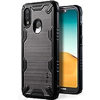 Ringke Cover Huawei P20 Lite [Onyx-X] Impugnatura Resistente All'impatto in TPU Custodia Flessibile Antiscivolo Rinforzata Antiurto Resistente all'Usura Custodia per Huawei P20 Lite - Black Nero