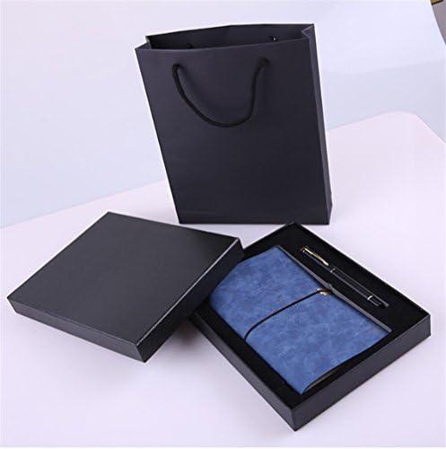 Driverder Fournitures Scolaires Portable Set Set avec boîte-Cadeau pour étudiant étudiant étudiant (Bleu foncé) B07HBYVR15 7b6ca2
