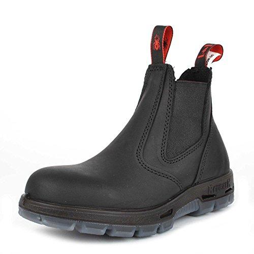 Redback Boots Chaussures Boots en Cuir Noir Femme