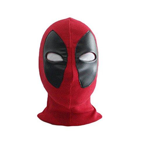(Lycra Super Stretch Deadpool Maske Halloween Cosplay Deadpool Strumpfhose Hood Party Masken Für Erwachsene Und Kinder)
