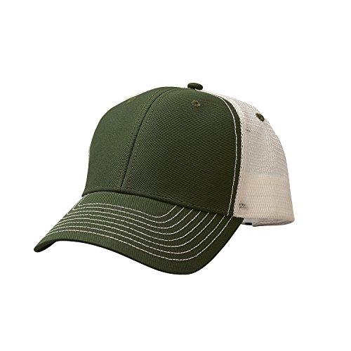 Ouray Sportswear Unisex-Erwachsene Sideline Cap Hut, Dark Hunter/White, Einstellbar -