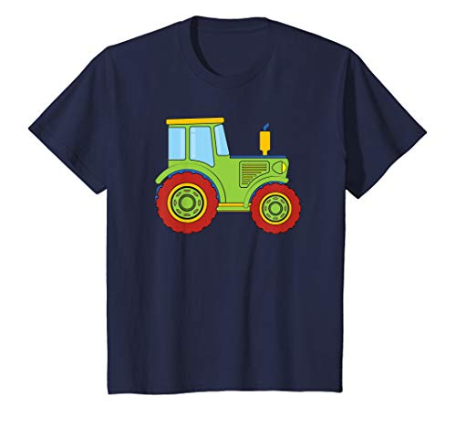 Kinder Traktor Geschenk Landwirt Trecker T-Shirt Schlepper Bauer