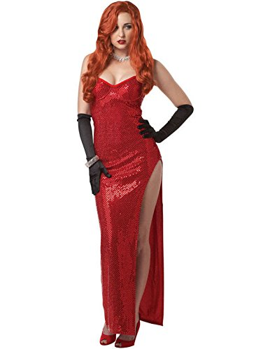 Jessica Rabbit-Kostüm für (Star Dress Movie Fancy Kostüme)