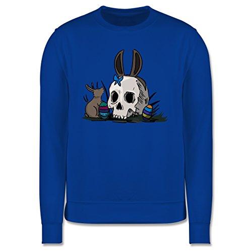 Ostern - Totenschädel Ostern - Herren Premium Pullover Royalblau
