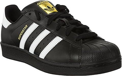 adidas Superstar Foundation 642 (38, Schwarz/Weiß/Gold)