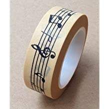 Love My Tapes Washi Tape 15mmX10m-Music Notes