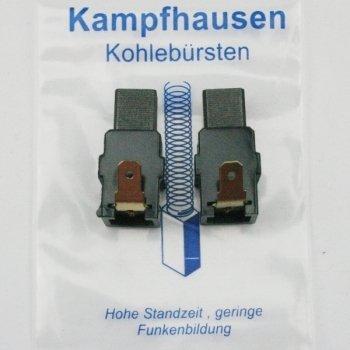 Preisvergleich Produktbild Kohlebürsten für Makita Bohrmaschine Schlagbohrmaschine HR 2400 , HR2400 , mit Halterung ersetzt CB-417