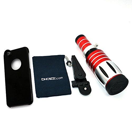 APEXEL - TELESCOPIO METALICO DE FOTOGRAFIA CON TRIPODE Y CARCASA RIGIDA PARA IPHONE 6 (50X)