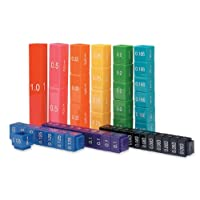 Learning Resources Fraction Tower® Equivalency Cubes, Set of 51