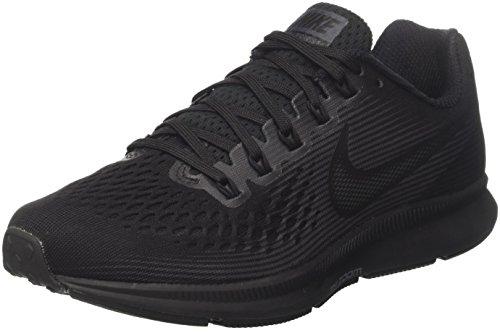 Nike Air Zoom Pegasus 34, Zapatillas de Entrenamiento para Hombre, Azul (Bleuglacé/Cramoisibrillant/Blanc/Renardbleu), 44.5 EU