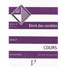 DECF, numéro 1, Droit des sociétés, cours