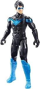 Mattel DC Batman Missions-Figura de acción 30cm Nightwing, Juguetes niños +4 años, Multicolor GCK90