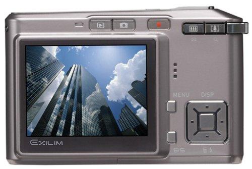 Casio EXILIM EX-S500 Digitalkamera (5 Megapixel) in Brillant Grey